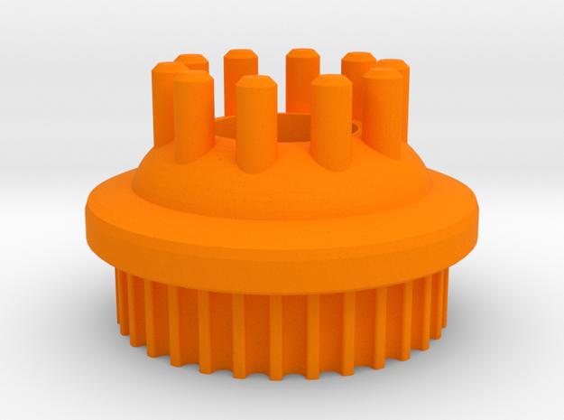 LHB 13mm 32T Wheel Pulley For Orangutan Kegals in Orange Processed Versatile Plastic