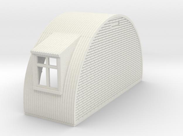 N-76-end-brick-nissen-hut-door-wind-1a in White Natural Versatile Plastic