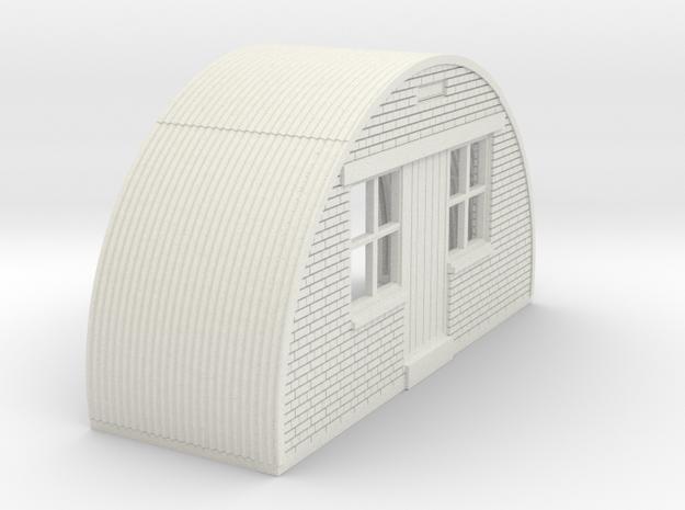 N-76-front-end-brick-nissen-hut-16-36-1a in White Natural Versatile Plastic