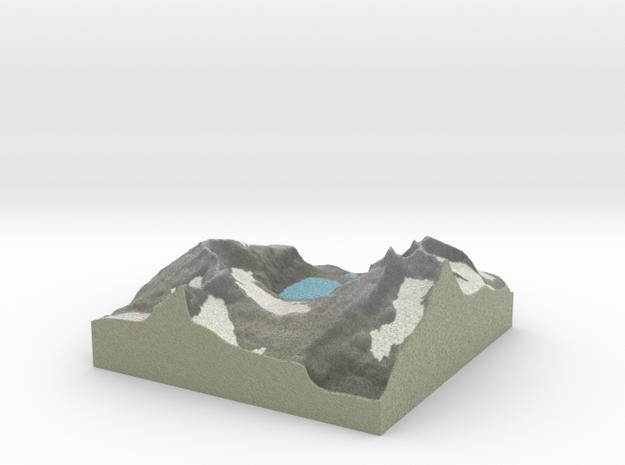 Terrafab generated model Fri Oct 28 2016 15:58:14  in Full Color Sandstone
