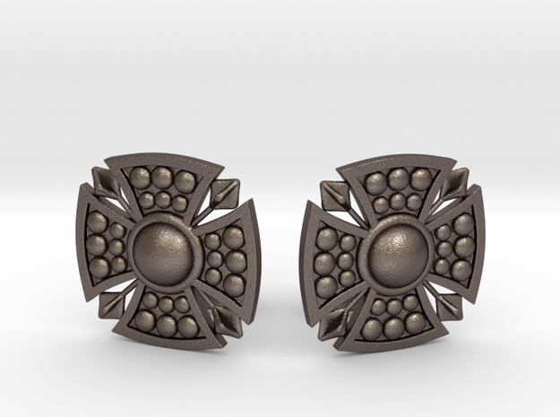 Designer Shield Cufflinks