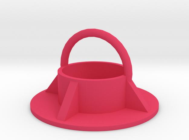 Magnethook V21 Ring in Pink Strong & Flexible Polished