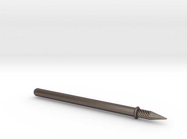 nib pen Spyra Gyra in Polished Bronzed Silver Steel