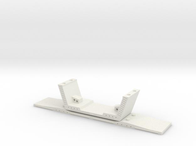 HO/1:87 Precast concrete bridge segment kit (wide  3d printed