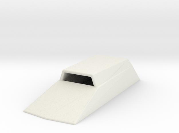 HoodScoop 1/18 V2 in White Natural Versatile Plastic