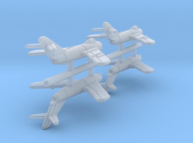 1/700 MiG-17 (x4)