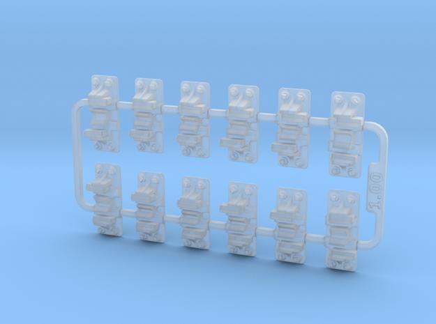 Check Rail Chairs 1.02mm 3d printed