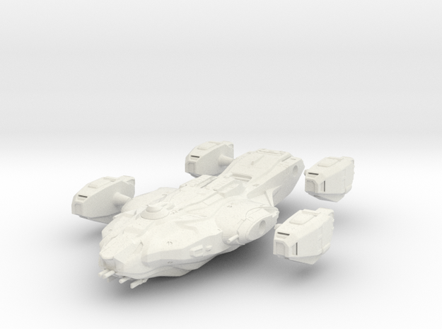 Dark Matter Eng in White Natural Versatile Plastic