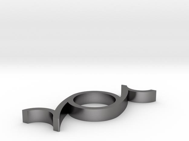 Note Spinner in Polished Nickel Steel