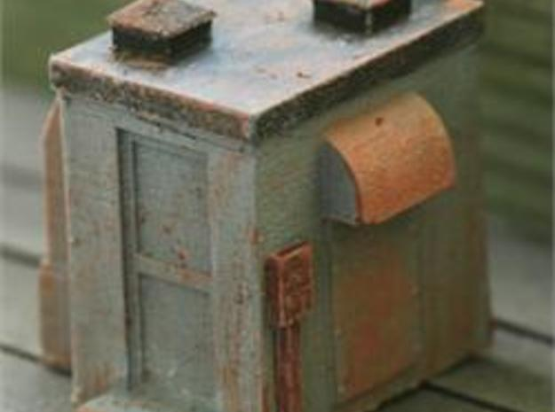 HO Scale Detail, Rooftop MECHANICAL CHASE HOUSE