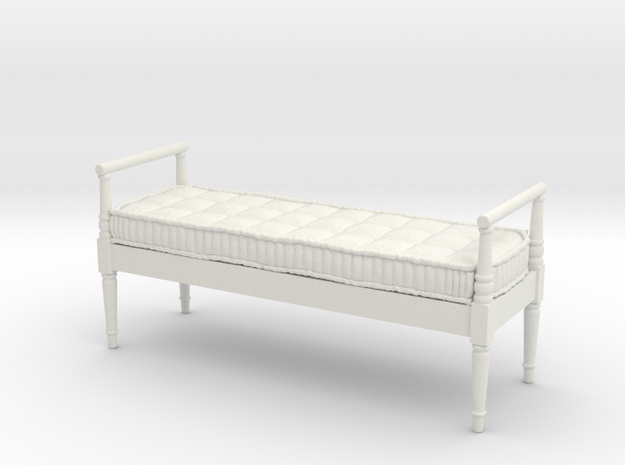 1:12 French Country Bench