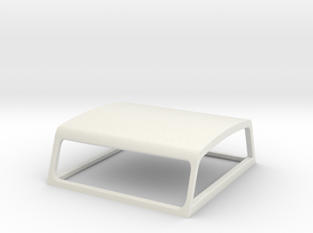Toyota Hilux Canopy 1:24 scale in White Natural Versatile Plastic