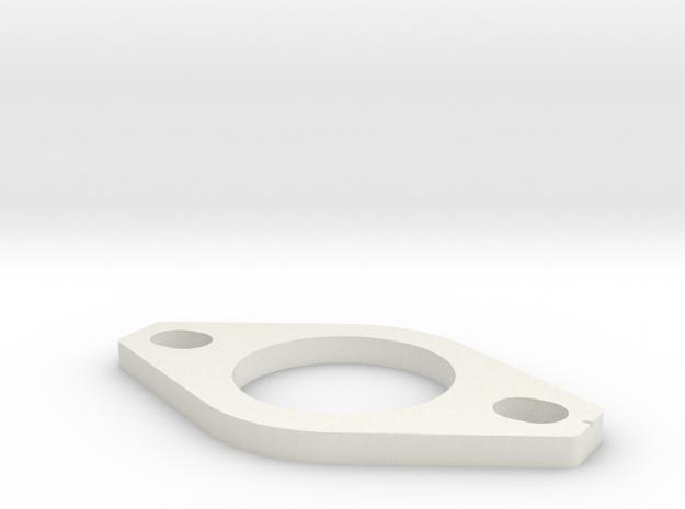 Dellorto FRD 34 Phenolic Spacer in White Natural Versatile Plastic