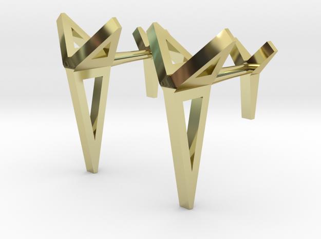 YOUNIVERSAL Origami 3T Cufflinks. Sharp Chic