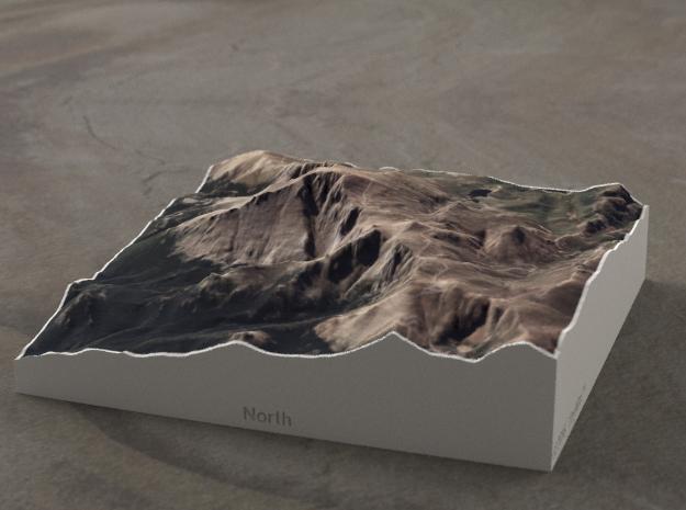 Pikes Peak, Colorado, USA, 1:50000 in Full Color Sandstone
