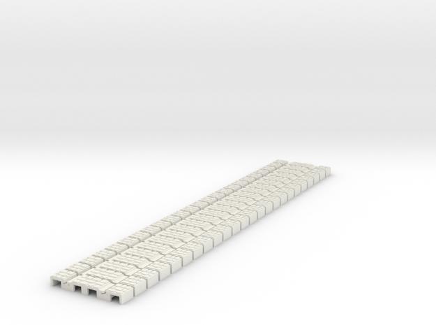 P-165stw-flexi-tram-track-100-w-x24-1a in White Natural Versatile Plastic