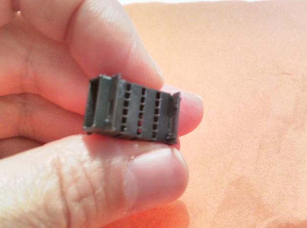 Set  porte testate ALn773, ALn873 and Ln779 in Black Hi-Def Acrylate