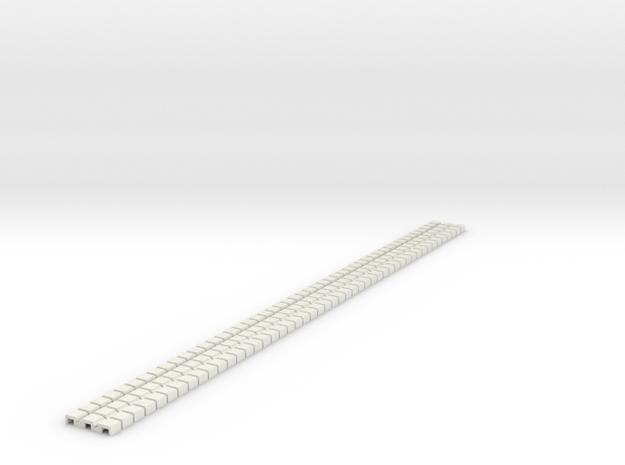 P-9stg-flexi-tram-track-100-x48-1a in White Natural Versatile Plastic
