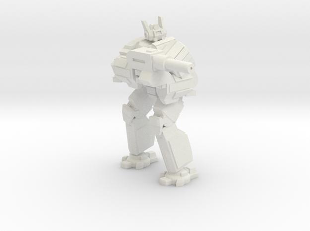 Hoplite pose 2 in White Natural Versatile Plastic