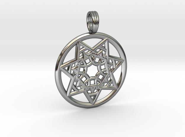 SIRIUS CHAKRA in Premium Silver