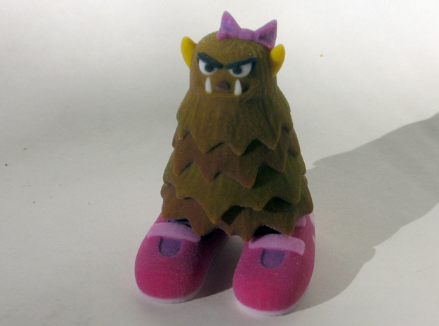 2 Inch Monsters: Batch 01 3d printed Big Foots