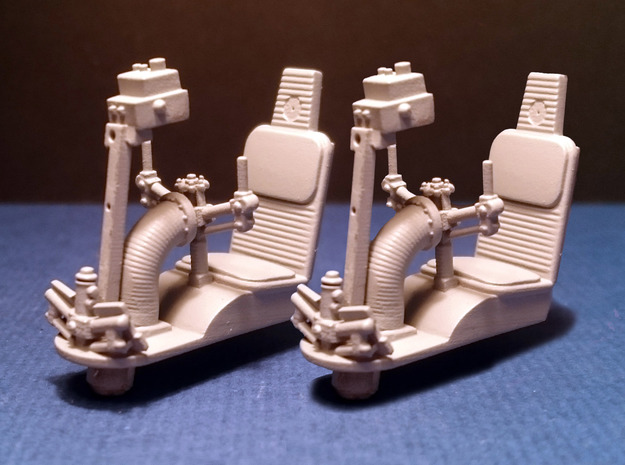 YT1300 DEAGO TURRET WELL SEAT SET 1/43