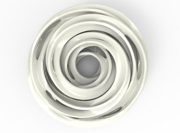 Cinquefoil Knot 3d printed