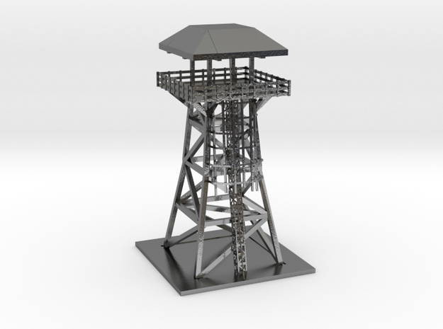Roblox Tower in Polished Silver
