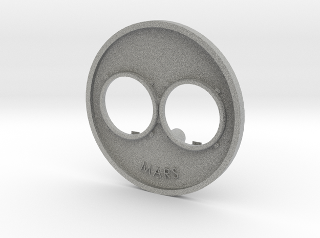 F7-single-headlight-bezel-v3 in Metallic Plastic