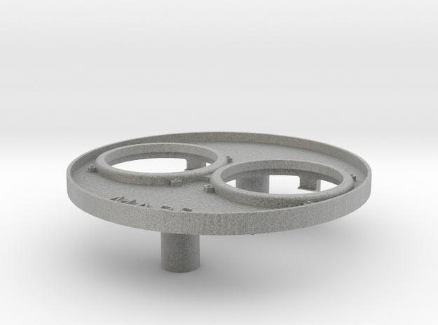 F7-headlight-bezel-v3 in Metallic Plastic