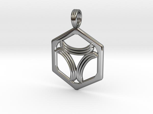 TRINITY LEAF in Premium Silver