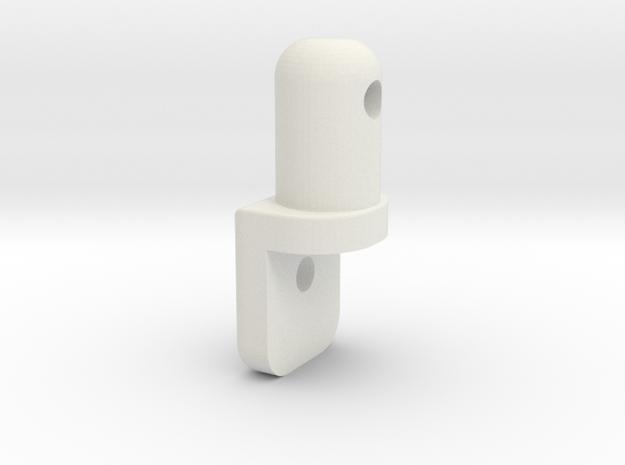 NRC-32 Body Post  in White Natural Versatile Plastic