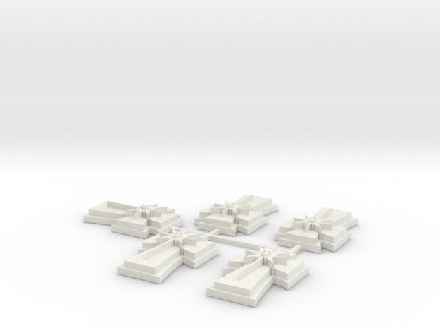 15mm Shield 2 x5 in White Natural Versatile Plastic