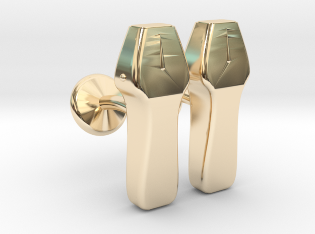 Echo probe in 14k Gold Plated