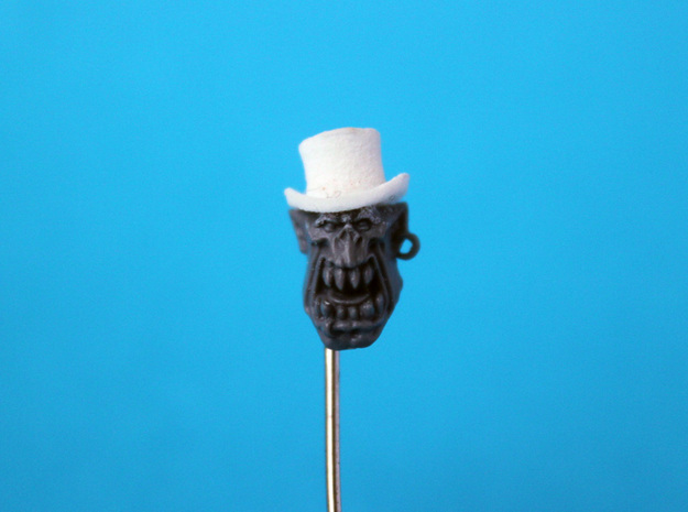 28mm Hats (x32)  3d printed Gentleman with top hat
