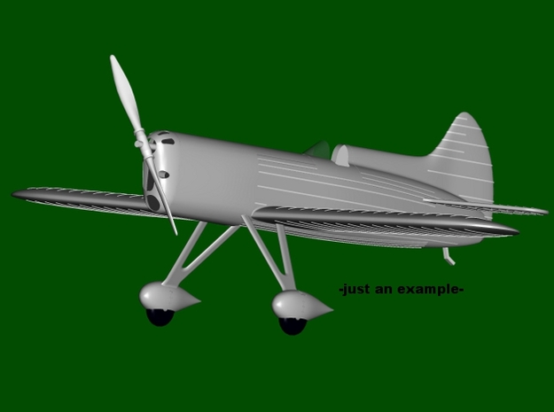 """DGA-5 """"IKE"""" #39, scale 1/144  in Frosted Ultra Detail"""