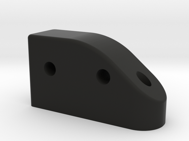 GF5 Front Camber Link Mount in Black Strong & Flexible