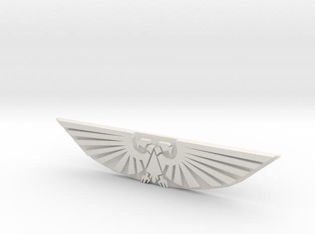 EAGLE TAG in White Natural Versatile Plastic