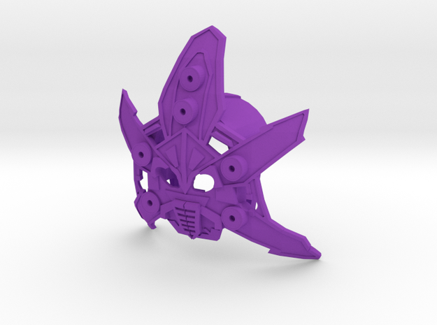 Monarch Mask Of Domination in Purple Strong & Flexible Polished