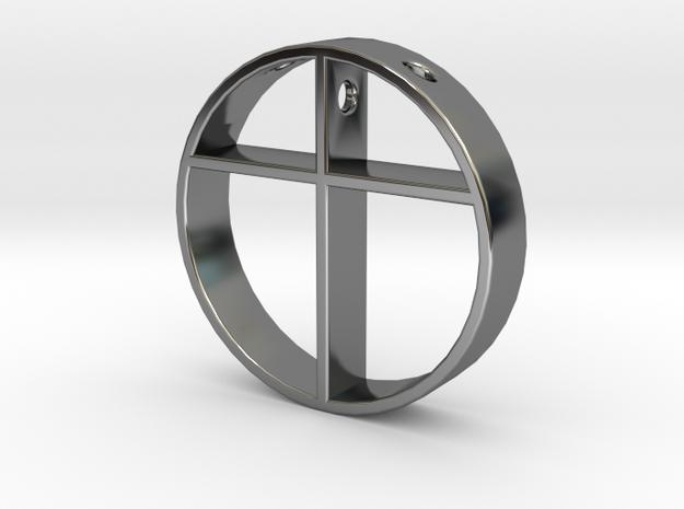 Cross pendant for men.