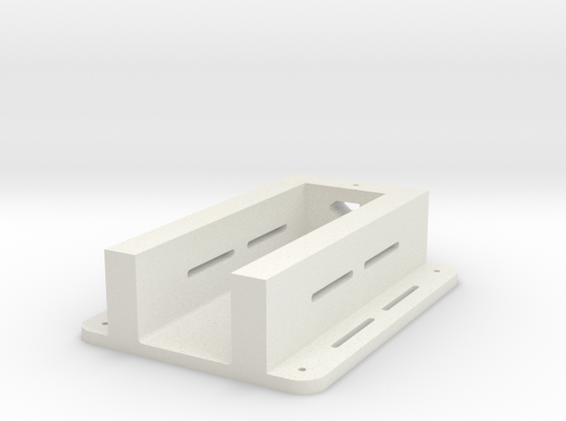 Elev-8 Battery Tray in White Natural Versatile Plastic