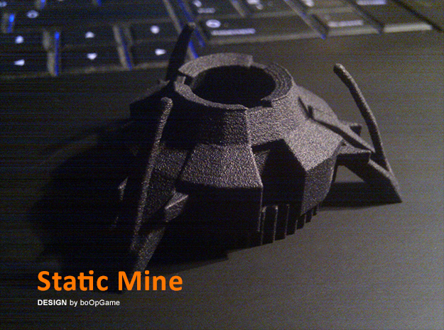 boOpGame Shop - Half-Life Static Mine in Black Strong & Flexible