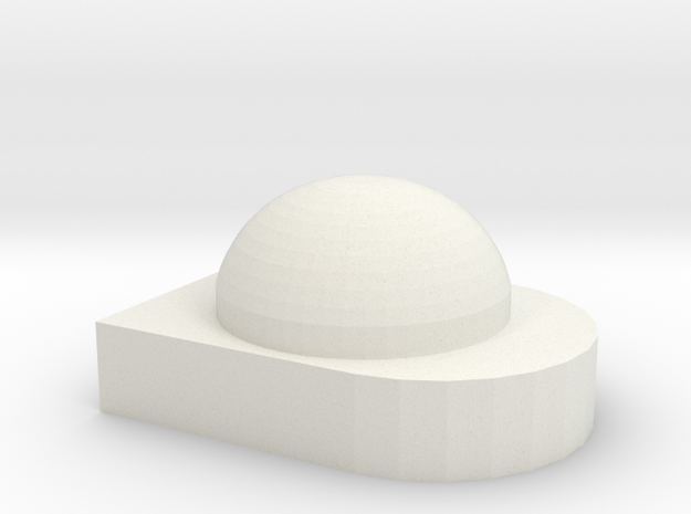 1/64 Greenstar globe New Style in White Strong & Flexible
