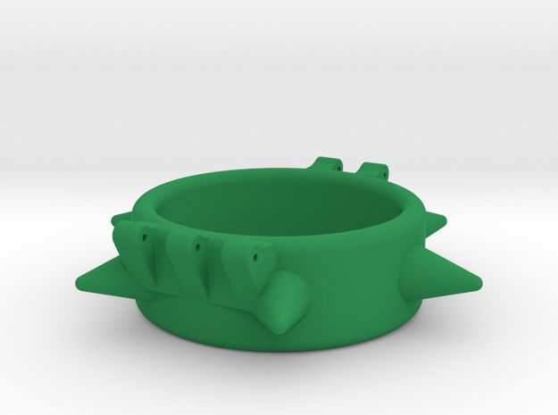 Ccage-6 Spike 34-15 in Green Processed Versatile Plastic