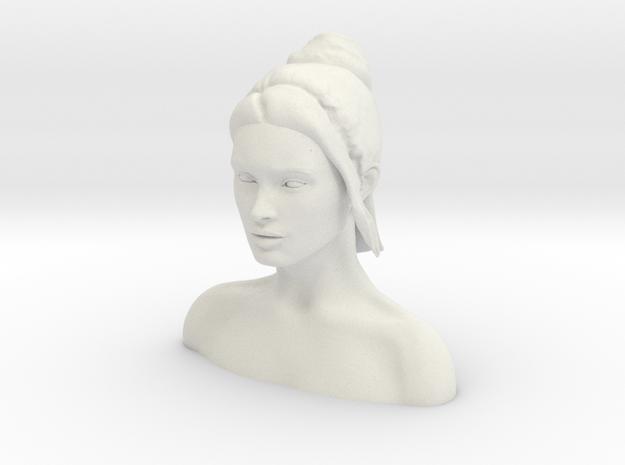 Megan Fox Headsculpt  in White Strong & Flexible