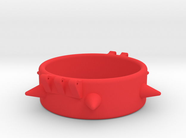 Ccage-6 Spike 51-20 in Red Processed Versatile Plastic
