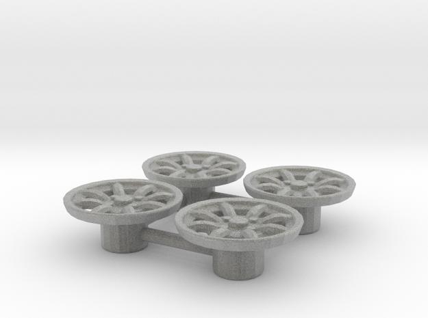Tapacubos Minilite 16 in Metallic Plastic