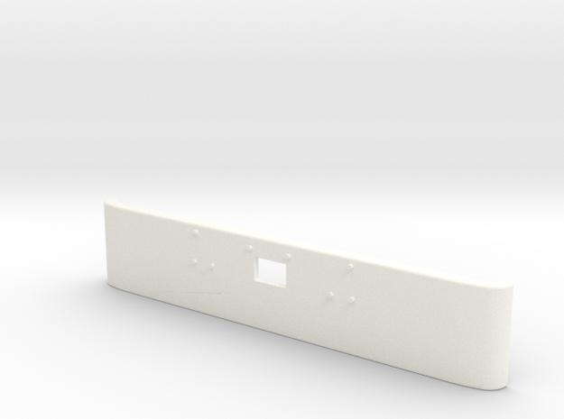 1/24 Peterbilt 379 Front Bumper for italeri kit in White Strong & Flexible Polished: 1:24