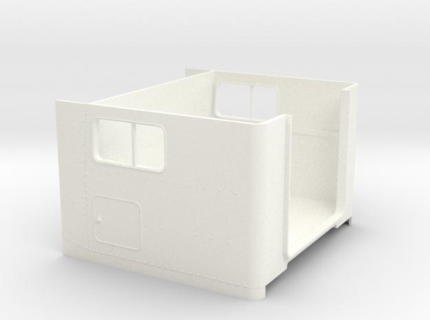 1/24 peterbilt Unibilt Sleeper  cabin in White Strong & Flexible Polished: 1:24