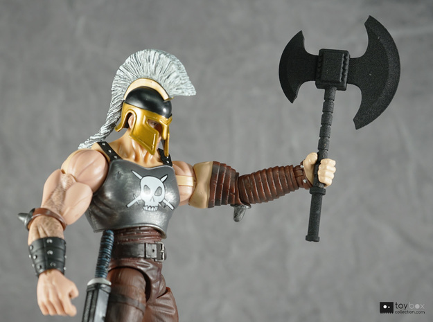 1:12 Battle Axe for Marvel Legends Ares Dark Reign in Black Natural Versatile Plastic